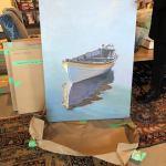 SEA VIEWS Art Opening with Brechin Morgan at Axel Interiors