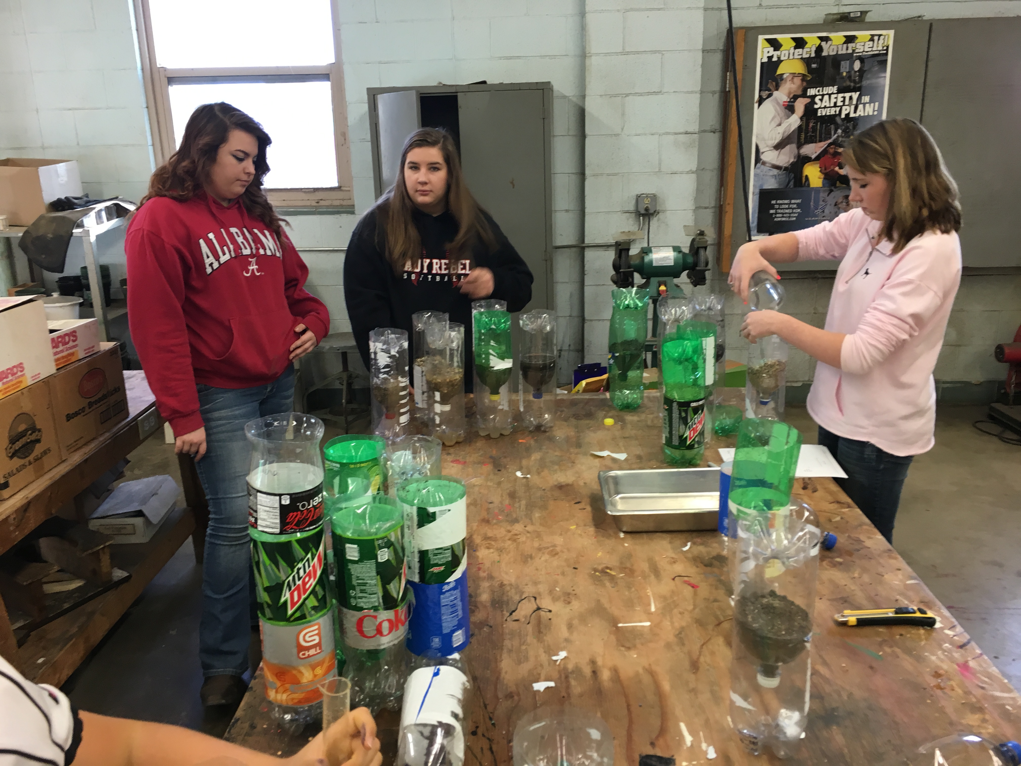 Agriscience Down And Dirty Soil Water Movement Lab