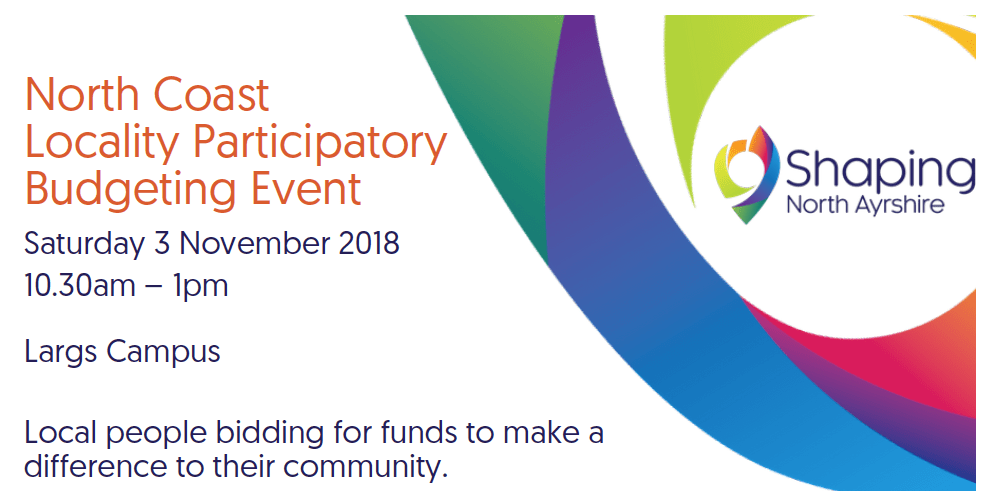 North Coast Participatory Budgeting – Application deadline: 4th October!