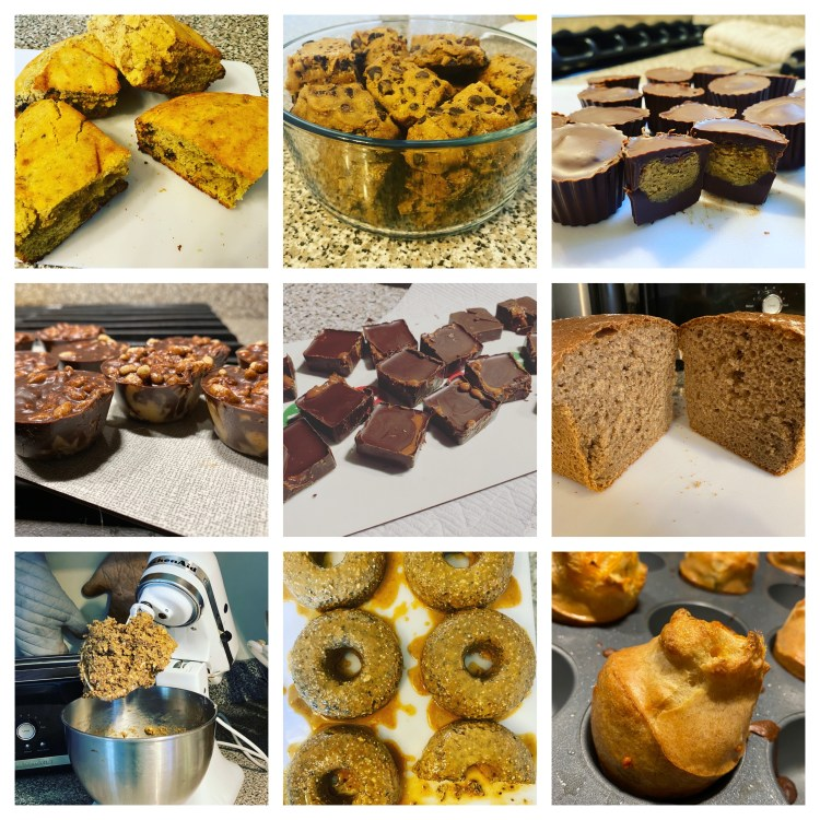 Homemade healthy snacks