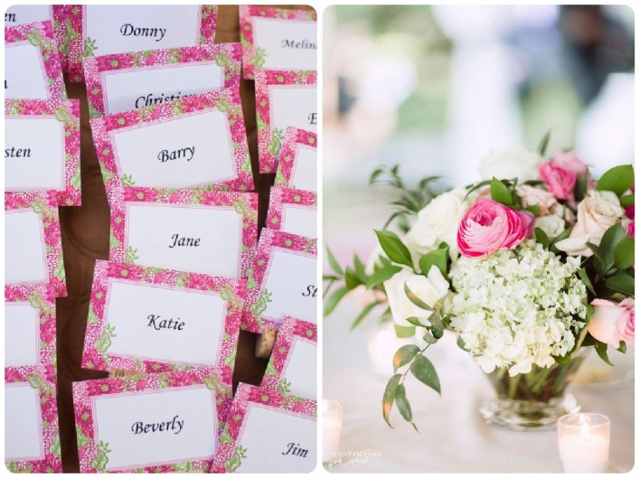 Lilly Pulitzer-Inspired Wedding Reception - Fairly Southern