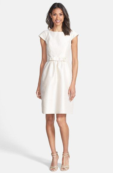 Woven Fit & Flare by Alfred Sung - Perfect Rehearsal Dinner LWD! - Fairly Southern