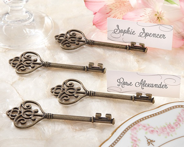 Key Place Card Holder |  Fairly Southern