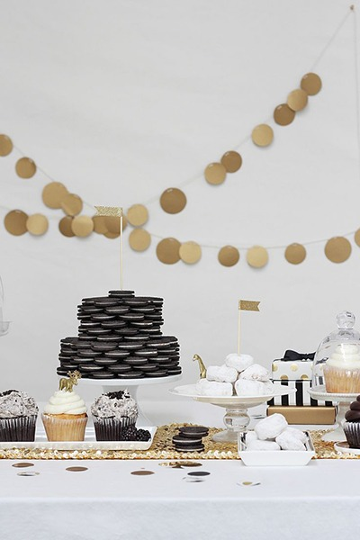 White Dessert Table via SaveOnCrafts - Fairly Southern