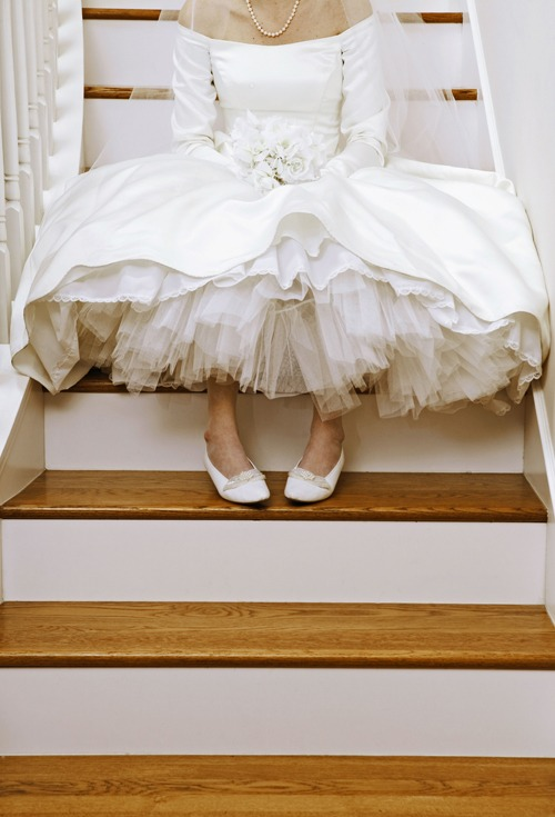 6 Ways to Help the Bride Go to the Bathroom in Her Wedding Dress via Brides - Fairly Southern