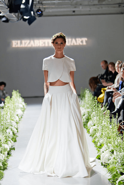 "Least Favorite Wedding Trend of 2014: Crop Top Wedding ""Dresses"" - Fairly Southern"