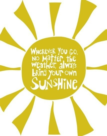 Bring Your Own Sunshine | Fairly Southern