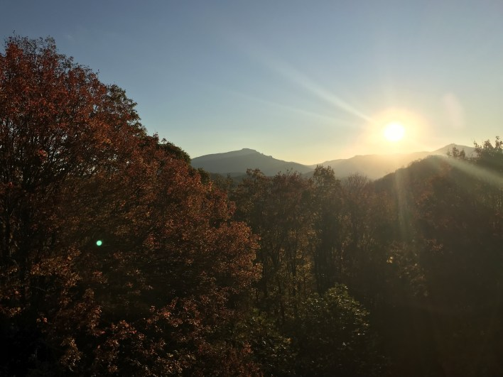 Grandfather Mountain sunset | Fairly Southern
