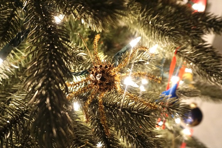 Gumball and pipe cleaner spider ornament | Fairly Southern
