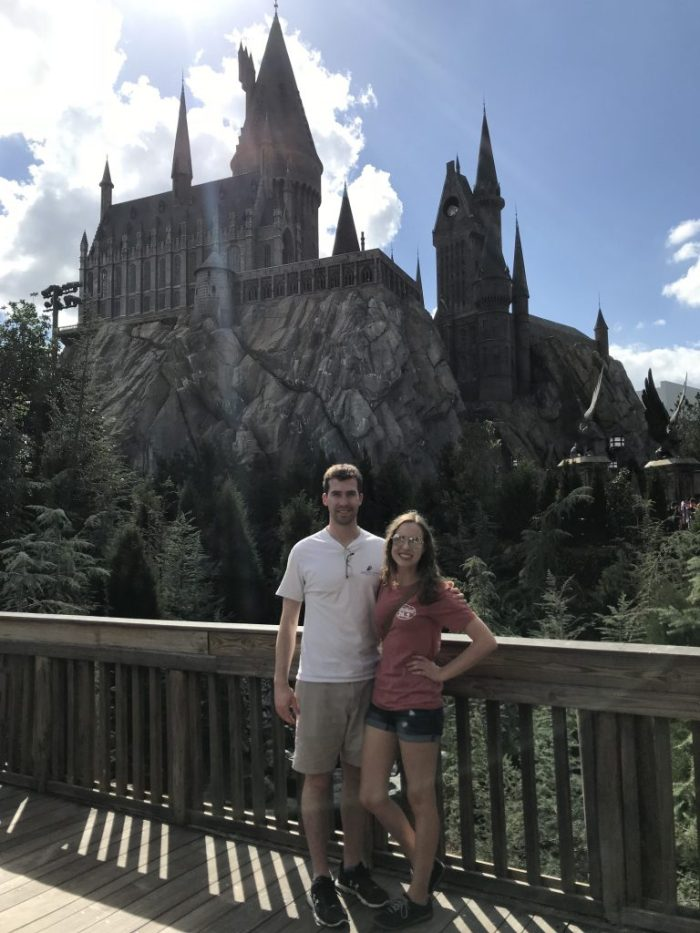 Hogwarts at Wizarding World of Harry Potter | Fairly Southern