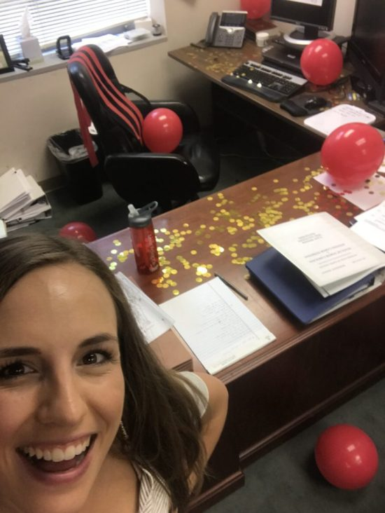 Birthday office decorations  |  Fairly Southern
