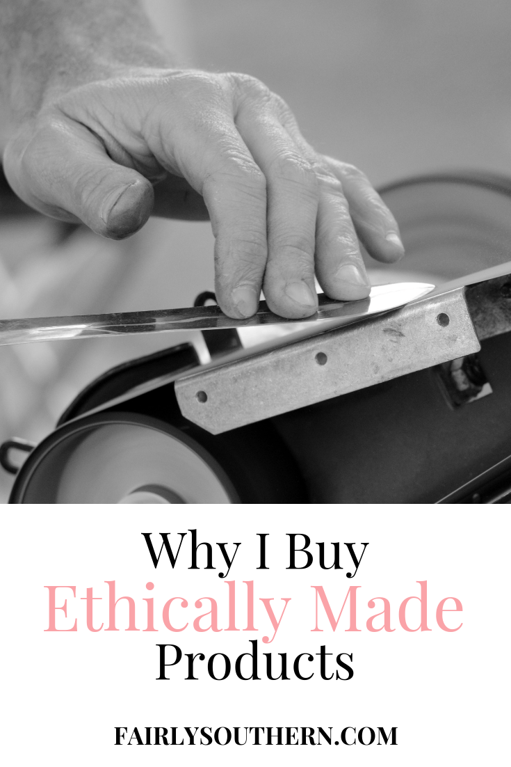 Why I Buy Ethically Made