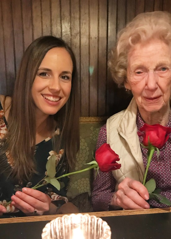 Valentine's Day tradition with grandparents  |  Fairly Southern