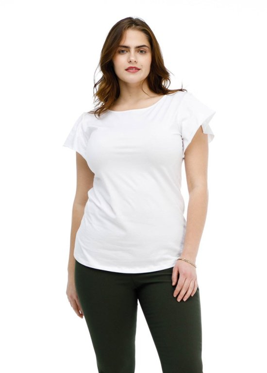 Elegantees White Top  |  Ethically Made Women's Workwear Recommendations  |  Fairly Southern