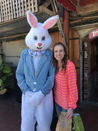 Easter bunny in Savannah!  |  Fairly Southern