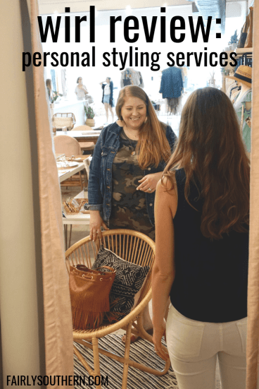 wirl Review: Personal Styling Services in Raleigh/Durham, NC with Tracy Vazquez |  Fairly Southern
