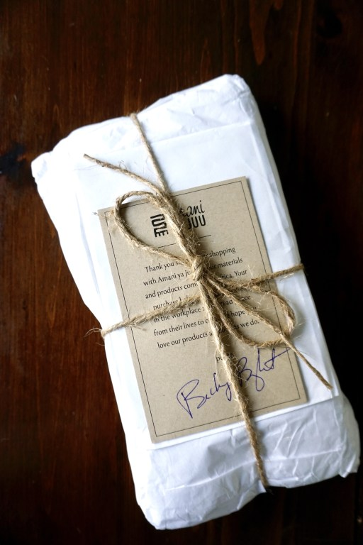 Packaging by Amani ya Juu - fair trade home goods made by artisans in Africa     Fairly Southern