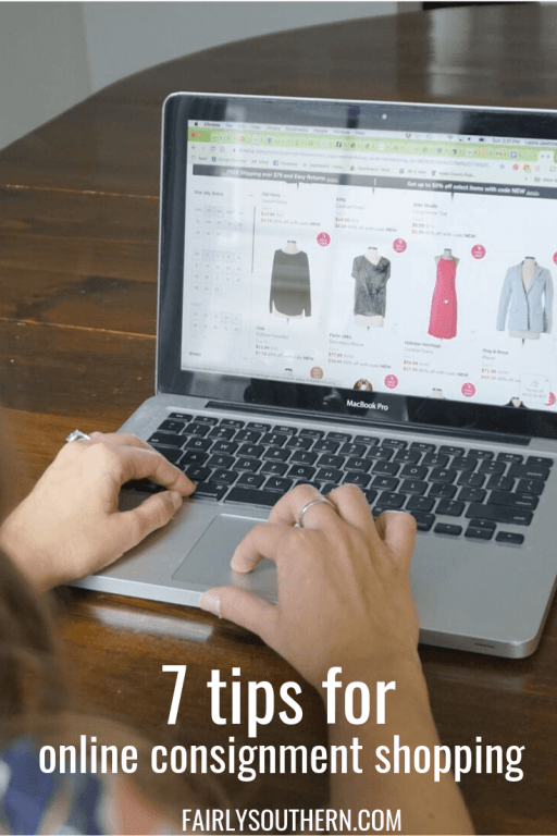 7 Tips for Online Consignment Clothing Shopping  |  Fairly Southern