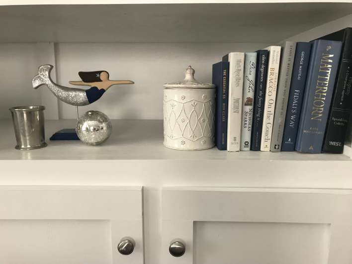 Gray, navy, and indigo home decor -  Small Joys  |  Fairly Southern