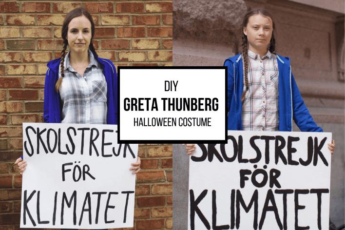 DIY Greta Thunberg Halloween Costume | Fairly Southern