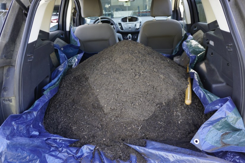 bulk compost from City of Raleigh, NC - organic & sustainable lawn care tips  |  Fairly Southern