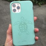 Pela compostable and sustainable sea turtle phone case | Fairly Southern