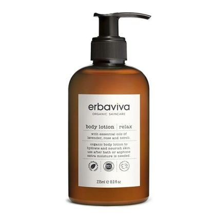 Erbaviva Relax organic body lotion | Eco-Friendly Holiday Gift Guide | Fairly Southern