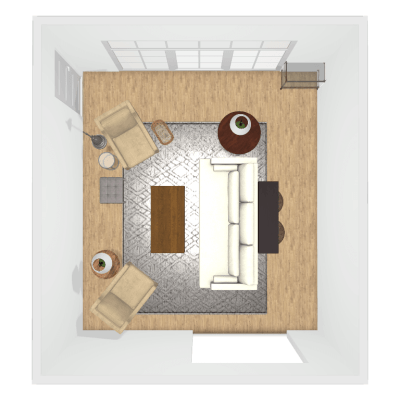 Socially Conscious Living Room Makeover Part 2: Space Planning