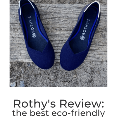 The Best Eco-Friendly Travel Shoes: Rothy's Review