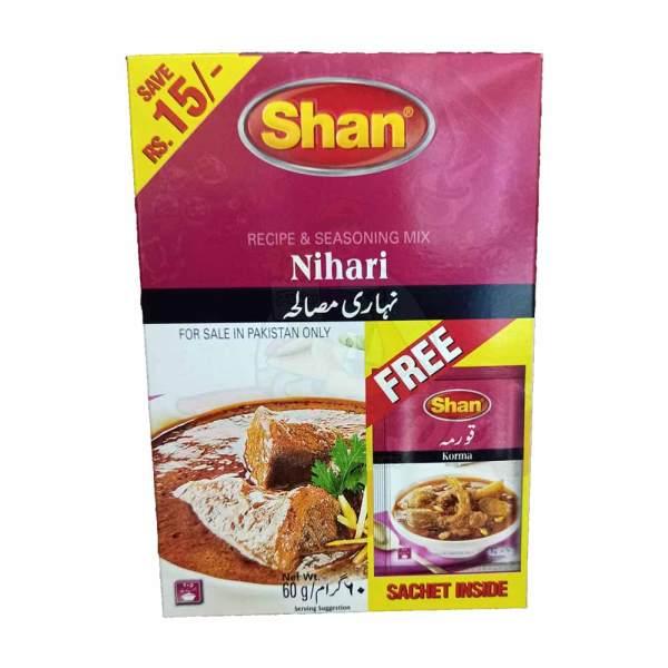 Shan Nihari Masala with free Korma