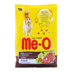 Me-O Beef Flavor and Vegetable Adult Cat Food
