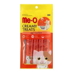 Me-O Creamy Treats Crab Flavor