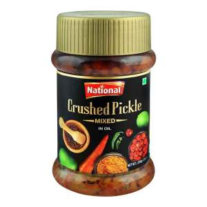 National Mixed Crushed Pickle in Oil