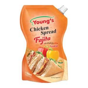 youngs fajita spread