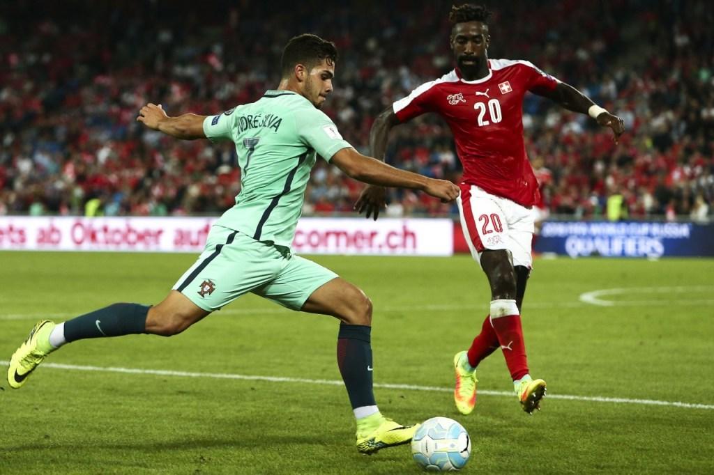 André Silva fez, contra a Suiça, a estreia em jogos oficiais pela selecção A. [Foto: bomdia.eu]