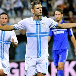 Roman Bezjak era o goleador de serviço do NK Rijeka Foto: sportske.jutarnji.hr