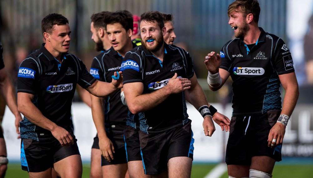 Warriors go for Glasgow! (Foto: Craig Watson)