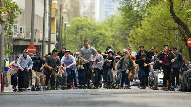 Skateboarding mais que um desporto