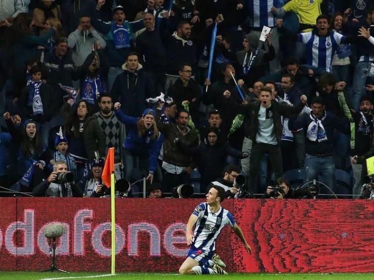 Diogo Jota foi o último jogador a marcar pelo FC Porto Foto: maisfutebol.iol.pt