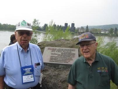 WWII vets Bill and Bob.