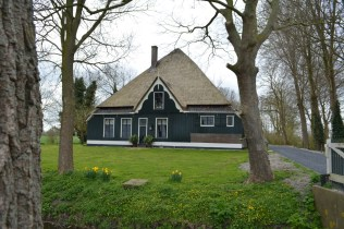 A 'pyramid' house on the polder.