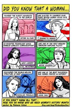 Why we need women's history month!