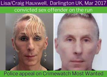 Lisa (Craig) Hauxwell, transgender rapist