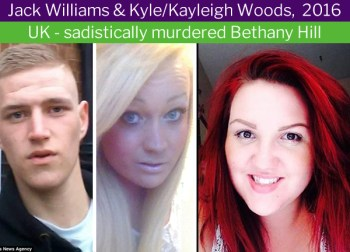 Kayleigh (Kyle) Woods, transgender murderer. Most transgender women have a working penis - FairPlayForWomen.com