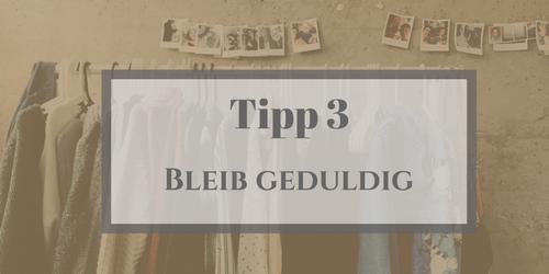 Secondhand Kleidung_Tipp 3_Geduld