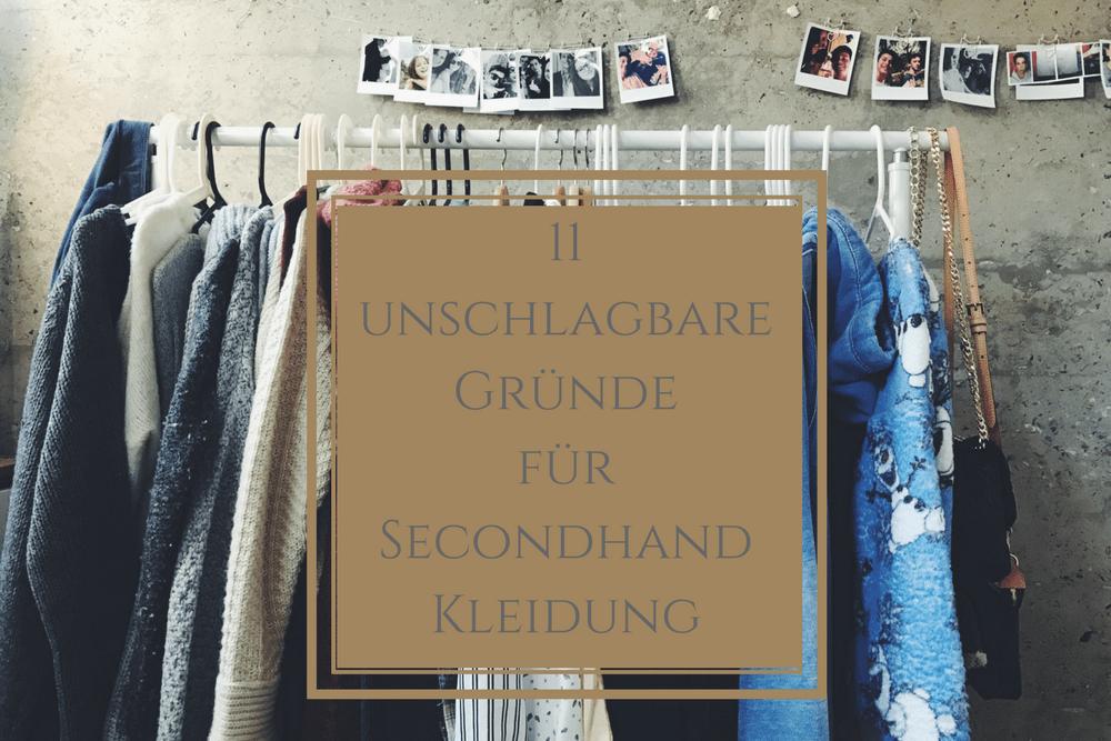 11 unschlagbare Gründe für Secondhand Kleidung