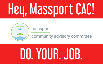 Massport Community Advisory Committee to hold Oct. 18 meeting; MCAC repeatedly ignores requests from communities under 4L/4R flight paths