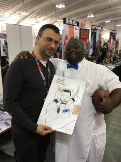Mikey from CBS_Sports after I drew him as the #CreamArrow!