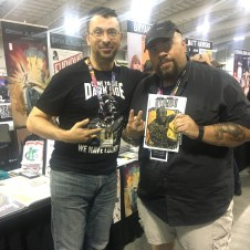 PowerMan/Iron Fist writer, the terrific David Walker also got hooked on Intertwined!