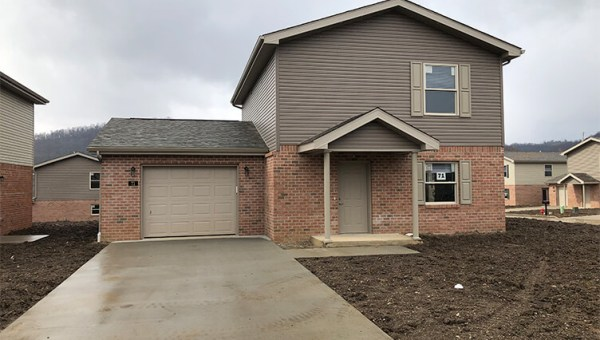 Jaedra View Two Story Home Front View